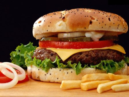 cach lam banh hamburger bo